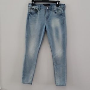 Express light wash faded Jeans size 8S